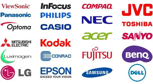 Reparación de proyectores de todas las marcas